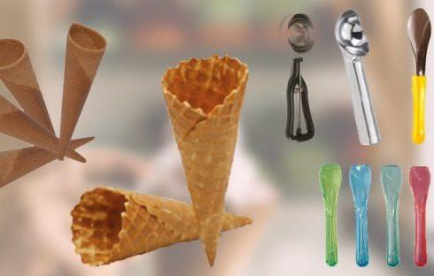 exemples d'accessoires utiles aux glaciers